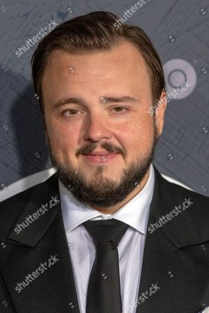 John Bradley-West arrives for the HBO Emmy Awards After Party at the Pacific Design Center in West Hollywood, California, USA, late 22 September 2019. The party took place after the 71st Primetime Emmy Awards ceremony in Los Angeles.