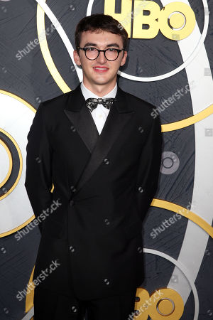 Isaac Hempstead Wright arrives for the HBO Emmy Awards After Party at the Pacific Design Center in West Hollywood, California, USA, late 22 September 2019. The party took place after the 71st Primetime Emmy Awards ceremony in Los Angeles.