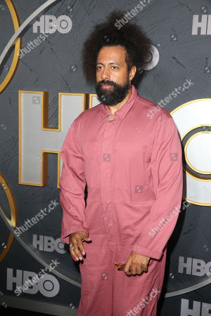 Reggie Watts arrives for the HBO Emmy Awards After Party at the Pacific Design Center in West Hollywood, California, USA, late 22 September 2019. The party took place after the 71st Primetime Emmy Awards ceremony in Los Angeles.