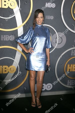 Stock Image of Terri Seymour arrives for the HBO Emmy Awards After Party at the Pacific Design Center in West Hollywood, California, USA, late 22 September 2019. The party took place after the 71st Primetime Emmy Awards ceremony in Los Angeles.