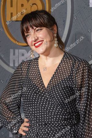 Choreographer Kathryn Burns arrives for the HBO Emmy Awards After Party at the Pacific Design Center in West Hollywood, California, USA, late 22 September 2019. The party took place after the 71st Primetime Emmy Awards ceremony in Los Angeles.