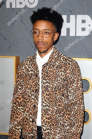 Darrell Britt-Gibson arrives for the HBO Emmy Awards After Party at the Pacific Design Center in West Hollywood, California, USA, late 22 September 2019. The party took place after the 71st Primetime Emmy Awards ceremony in Los Angeles.