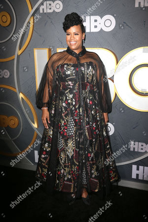 Natasha Rothwell arrives for the HBO Emmy Awards After Party at the Pacific Design Center in West Hollywood, California, USA, late 22 September 2019. The party took place after the 71st Primetime Emmy Awards ceremony in Los Angeles.