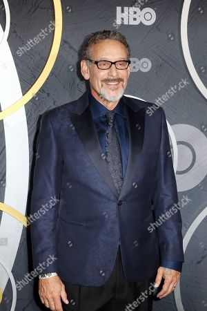 Stock Photo of Rob Steinberg arrives for the HBO Emmy Awards After Party at the Pacific Design Center in West Hollywood, California, USA, late 22 September 2019. The party took place after the 71st Primetime Emmy Awards ceremony in Los Angeles.
