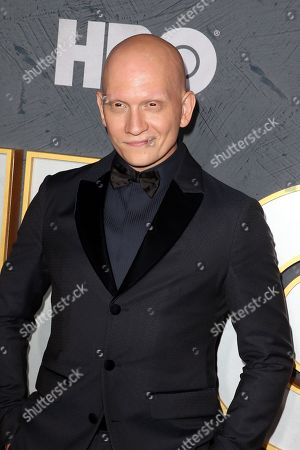 Anthony Carrigan arrives for the HBO Emmy Awards After Party at the Pacific Design Center in West Hollywood, California, USA, late 22 September 2019. The party took place after the 71st Primetime Emmy Awards ceremony in Los Angeles.
