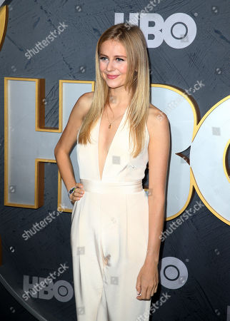 Justine Lupe arrives for the HBO Emmy Awards After Party at the Pacific Design Center in West Hollywood, California, USA, late 22 September 2019. The party took place after the 71st Primetime Emmy Awards ceremony in Los Angeles.