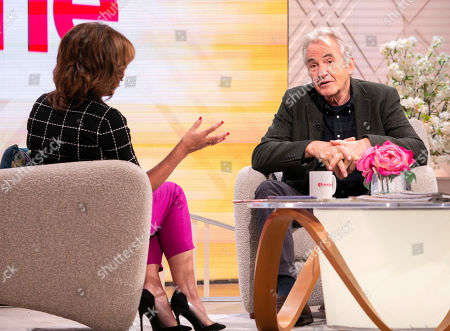 Stock Image of Lorraine Kelly and Larry Lamb
