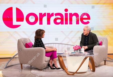 Lorraine Kelly and Larry Lamb