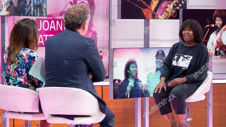 Piers Morgan and Susanna Reid with Joan Armatrading
