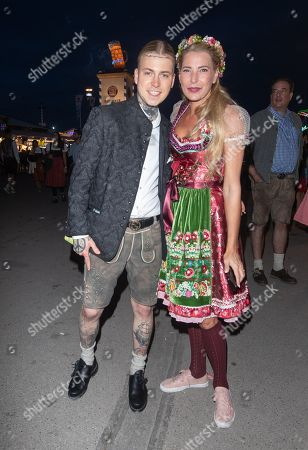 Stock Image of Alexander Hoeller and Giulia Siegel
