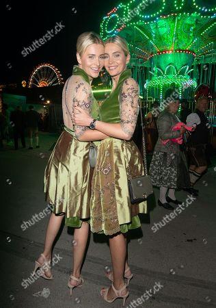 Julia Meise with Nina Meise