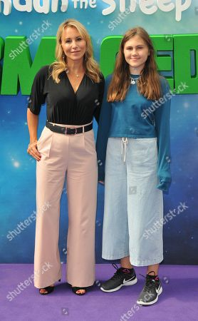 Stock Picture of Sophie Blake and guest