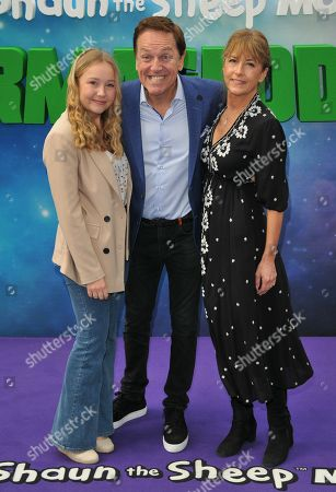 Brian Conley with his family