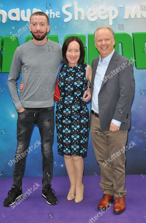 Stock Photo of guest, Mags Connolly and Nick Park