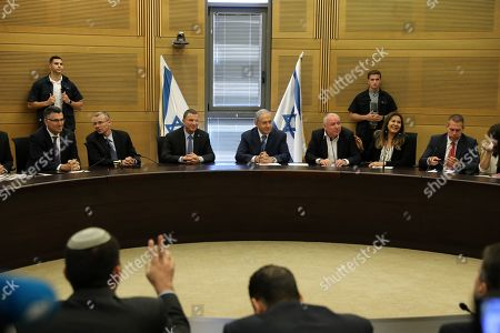 Editorial image of Consultations to form a new Israeli government, Jerusalem, Israel - 23 Sep 2019