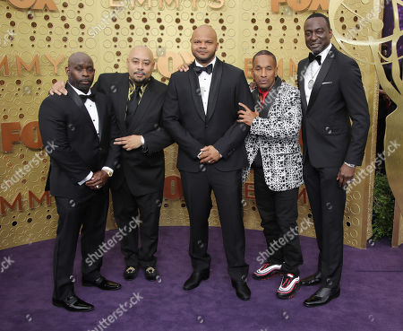Stock Image of Kevin Richardson, Antron Mccray, Raymond Santana Jr., Korey Wise and Yusef Salaam