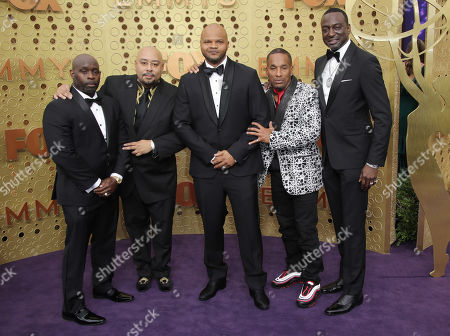 Stock Picture of Kevin Richardson, Antron Mccray, Raymond Santana Jr., Korey Wise and Yusef Salaam