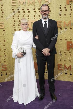 Patricia Arquette and Eric White