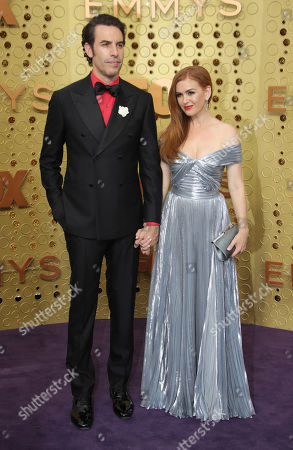 Stock Photo of Sacha Baron Cohen and Isla Fisher