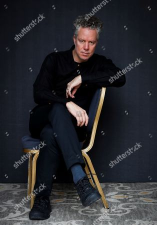 Stock Image of Federico Veiroj poses during an interview with the Efe news agency on the sidelines of the 67th San Sebastian International Film Festival (SSIFF), in San Sebastian, Spain, 23 September 2019, during which he spoke about his film 'Asi hablo el cambista' (lit. That's how the money changer talked).