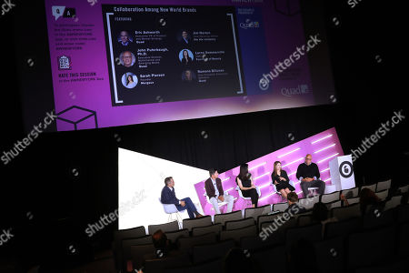 Eric Ashworth (Executive VP of Product and Market Strategy, Quad), Jim Norton (Chief Revenue Officer, the dtx company), Lorna Sommerville (CMO, Function of Beauty), Sarah Pierson (Founder, Margaux), John Puterbaugh, Ph.D. (Executive Director, Multichannel and Emerging Media, Quad)