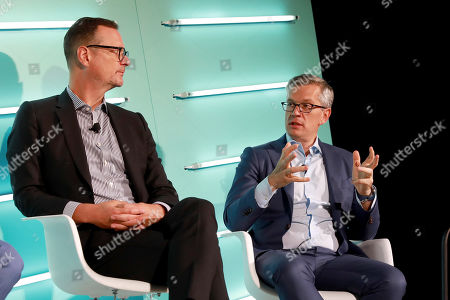 John Halley (COO, Ad Solutions, Viacom)  Dave Clark (GM, Freewheel)