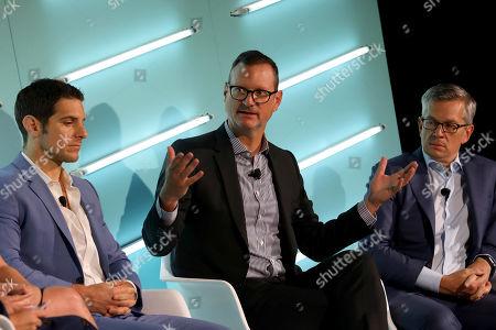 David Levy (CEO, OpenAP) John Halley (COO, Ad Solutions, Viacom)  Dave Clark (GM, Freewheel)