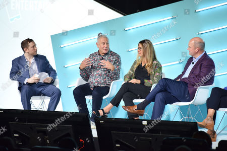 Garett Sloane (Technology Reporter, AdAge), Jonathan Steuer (Chief Research Officer, Omnicom Media Group), Alison Levin (VP Ad Sales & Strategy, Roku), Mike Law (President, Amplifi US)