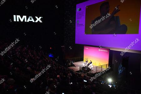 Stock Image of Blake Chandlee (Vice President, TikTok)  Gary Vaynerchuk (CEO & Co-Founder, VaynerMedia)