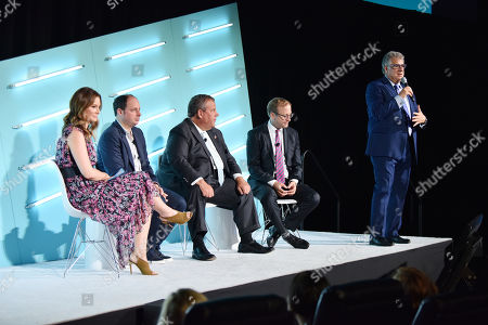 Editorial image of ABC NEWS: The Road To 2020 and Beyond seminar, Advertising Week New York, AMC Lincoln Square, New York, USA - 23 Sep 2019