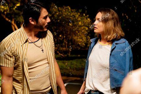 Rigo Sanchez as Manny and Leila George as Janine