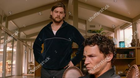 Jake Weary as Deran Cody and Shawn Hatosy as Andrew 'Pope' Cody