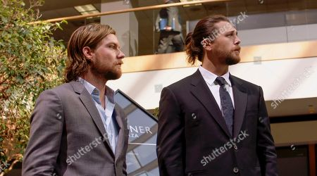 Jake Weary as Deran Cody and Ben Robson as Craig Cody