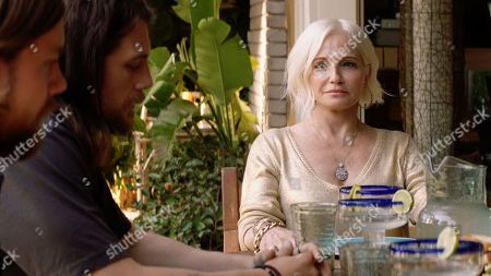 Jake Weary as Deran Cody, Ben Robson as Craig Cody and Ellen Barkin as Janine 'Smurf' Cody