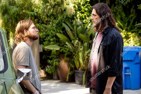 Stock Picture of Jake Weary as Deran Cody and Ben Robson as Craig Cody