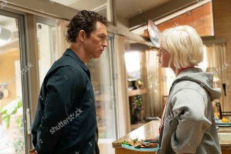 Shawn Hatosy as Andrew 'Pope' Cody and Ellen Barkin as Janine 'Smurf' Cody