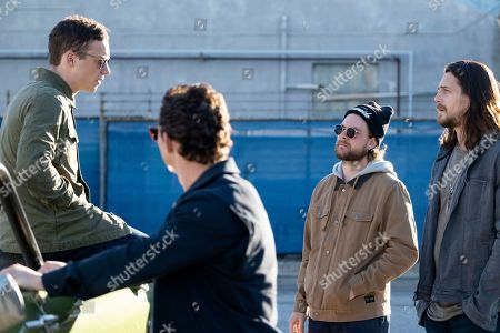 Finn Cole as Joshua 'J' Cody, Shawn Hatosy as Andrew 'Pope' Cody, Jake Weary as Deran Cody and Ben Robson as Craig Cody