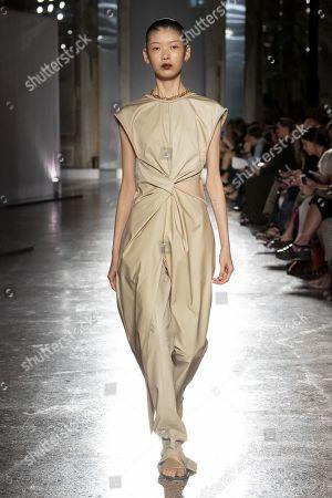 Editorial image of Gabriele Colangelo show, Runway, Spring Summer 2020, Milan Fashion Week, Italy - 21 Sep 2019