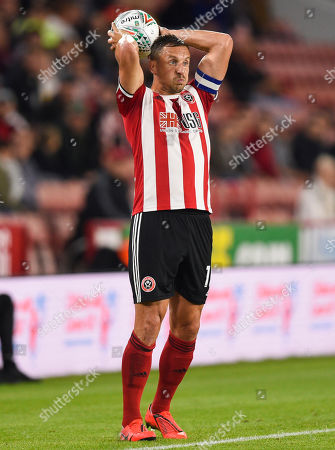 Stock Image of Phil Jagielka of Sheffield United