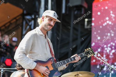Stock Image of Rayland Baxter performs at Pilgrimage Music and Cultural Festival at The Park at Harlinsdale, in Franklin, Tenn