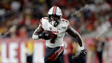 Utah running back Devontae Henry-Cole runs against Southern California during an NCAA college football game, in Los Angeles