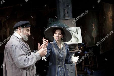'The Line' - Henry Goodman (Edgar Degas) and Sarah Smart (Suzanne Valadon)