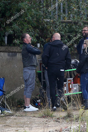 Editorial image of 'Truth Seekers' TV show on set filming, Welwyn Garden City, Hertfordshire, UK - 23 Sep 2019