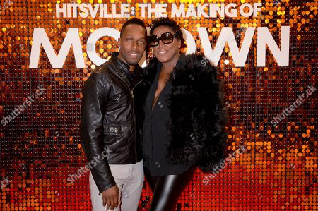 Stock Picture of Lemar and Mica Paris