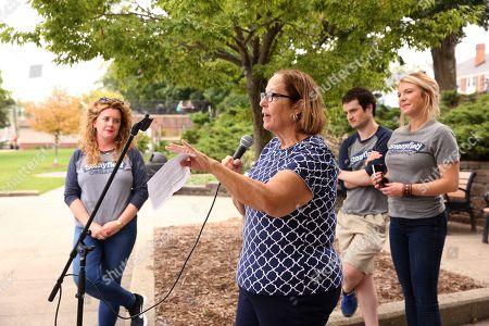Editorial picture of John Collins Park Organic Maintenance Check Presentation, East Grand Rapids, USA - 21 Sep 2019