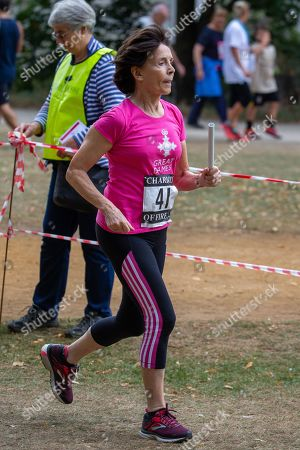 Editorial photo of Chariots of Fire relay race, Cambridge, UK - 22 Sep 2019