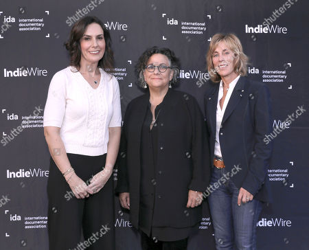 New York Times' Nicole Sperling, Executive Director of the Committee to Protect Journalists Roberta Grossman and Nancy Spielberg