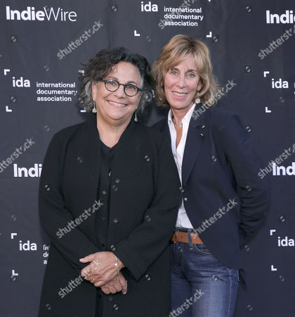 Stock Picture of Executive Director of the Committee to Protect Journalists Roberta Grossman and Nancy Spielberg