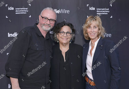 IDA Executive Director Simon Kilmurry, Executive Director of the Committee to Protect Journalists Roberta Grossman and Nancy Spielberg