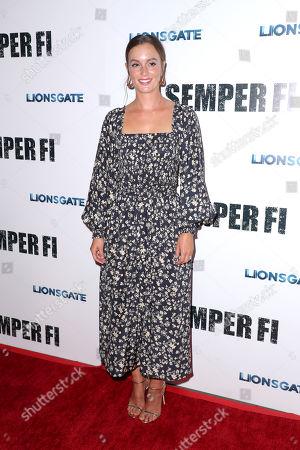 Editorial image of 'Semper Fi' film screening, Los Angeles, USA - 24 Sep 2019
